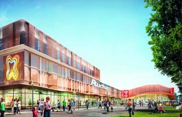 Les centre commercial Les 3 Fontaines rénové
