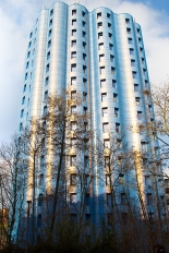 La tour bleue rénovée